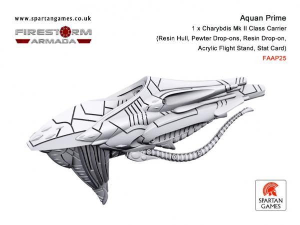 Firestorm Armada: Aquan Charybdis Mk II Class Carrier