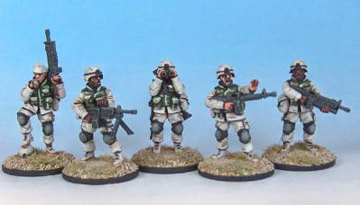 Black Scorpion Miniatures: US Marines: Checkpoint Team