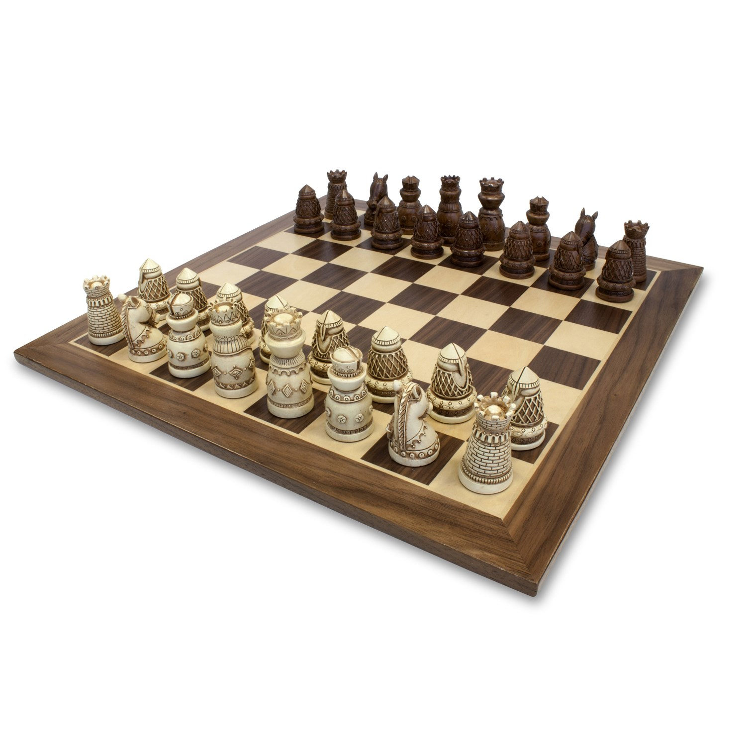 "Chess 15"" Medieval Brown"