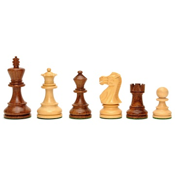 Chess: English Staunton Style Chess Pieces (Sheesam/Kari)