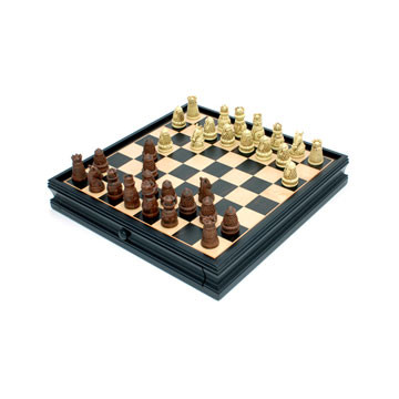 "Chess & Checkers (15"" Medieval) [Damaged]"