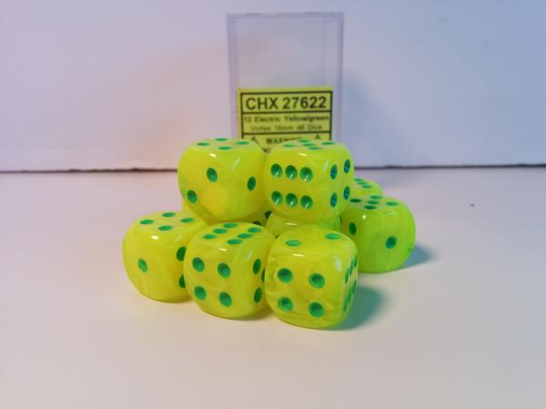 6 Sided Dice 16mm