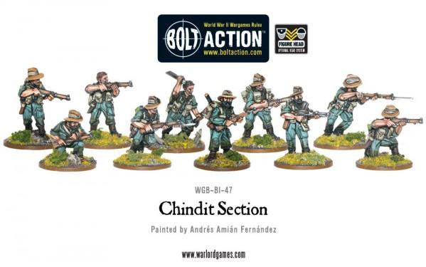 Bolt Action: Chindits: Section