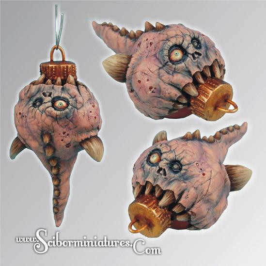Scibor Monstrous Miniatures: Christmas Monstrous Bulb #2