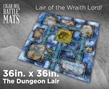 Cigar Box Battle Mats: The Dungeon Lair (3x3'+) - #290