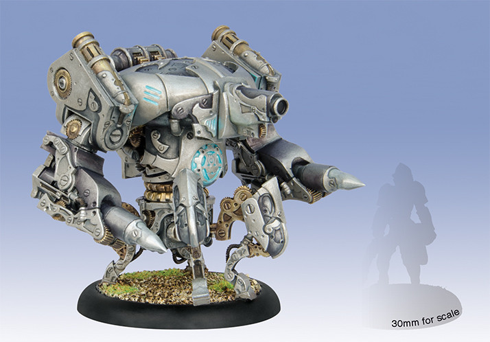 Warmachine: Convergence of Cyriss (36002): Cipher/ Inverter/ Monitor Heavy Vector