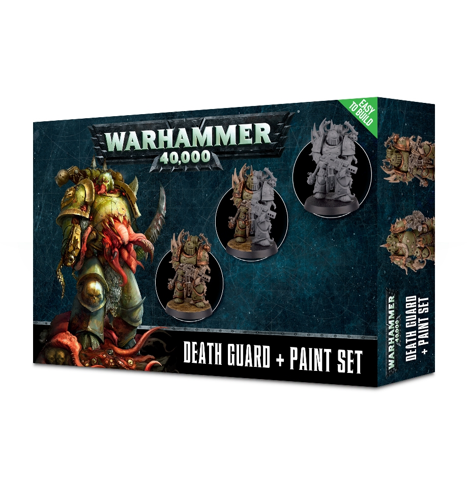 Citadel: Paint Set: Death Guard