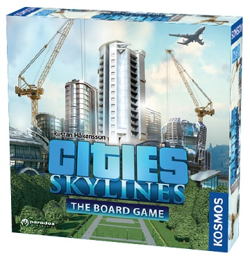 Cities: Skylines The Board Game