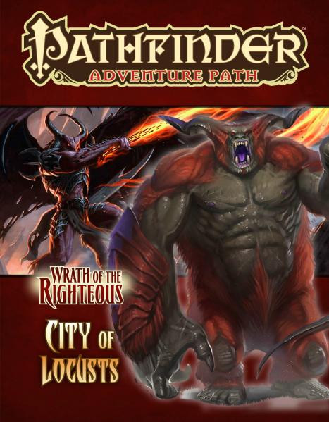 Pathfinder Adventure Path: Wrath of the Righteous #6: City of Locusts [SALE]