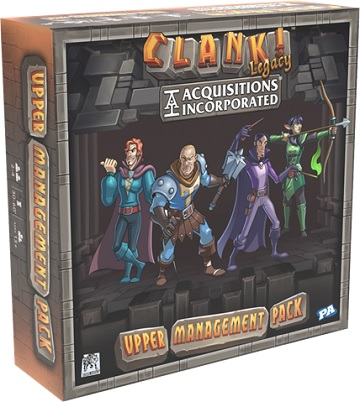 Clank! Legacy: Acquisitions Incorporated- Upper Management Pack
