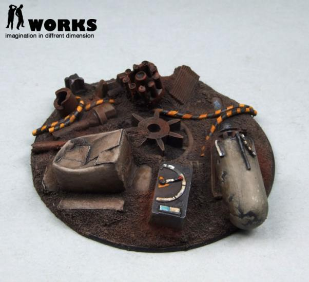 ID Works: Clanker Heap: Fly Base 2 -50mm