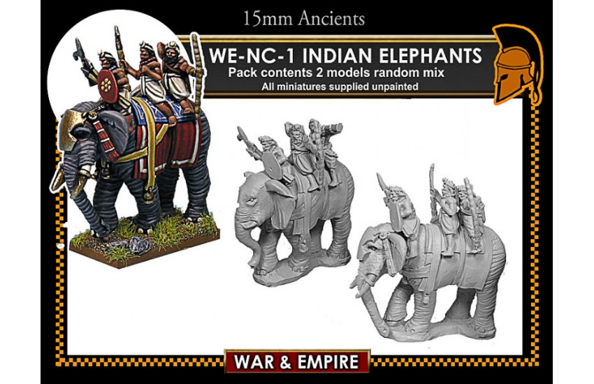 Classical Indian: Indian Elephants