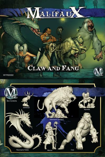 Malifaux: Arcanists: Claw and Fang