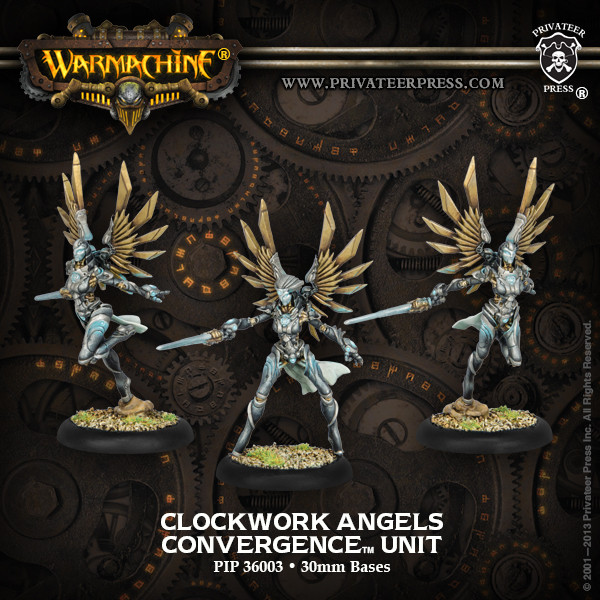 Warmachine: Convergence of Cyriss (36003): Clockwork Angels Unit