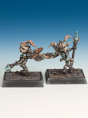 Freebooter Miniatures: Clockwork Fairies