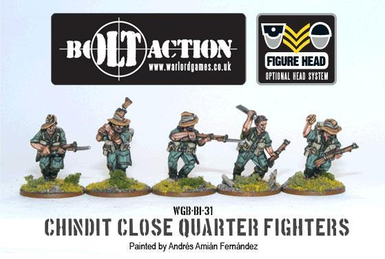 Bolt Action: Chindits: Close Quarter Fighters