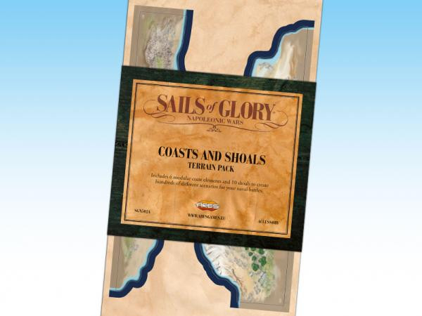 Sails of Glory: Coasts and Shoals Terrain Pack