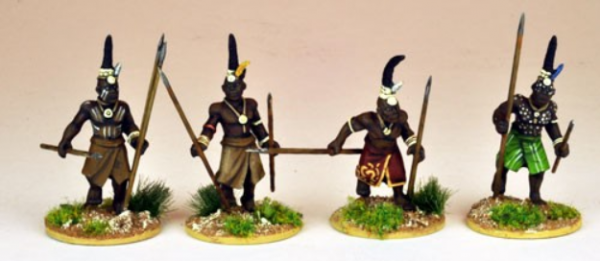 Colonial Africa: Senior Ila warriors