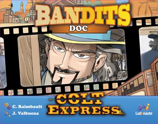Asmodee Colt Express Bandit Pack Doc COLT - Doc games