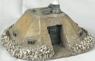 Miniature Building Authority: 28mm Sci-Fi: Command Bunker