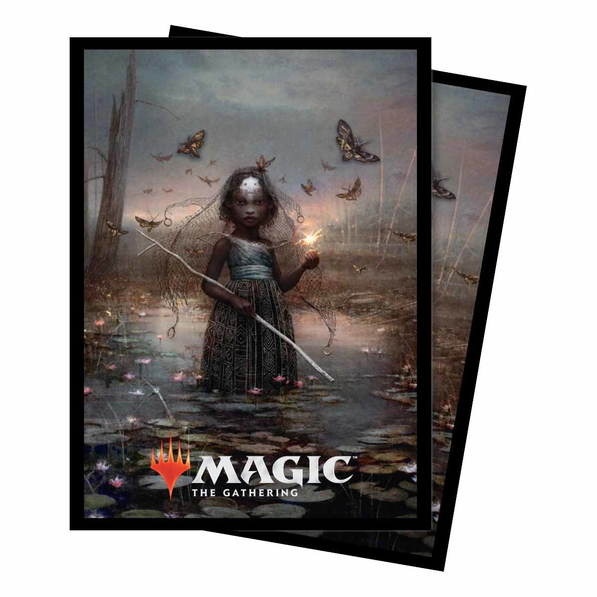 Commander 2018: Deck Protector Sleeves (100ct) v1 -AMINATOU, THE FATESHIFTER