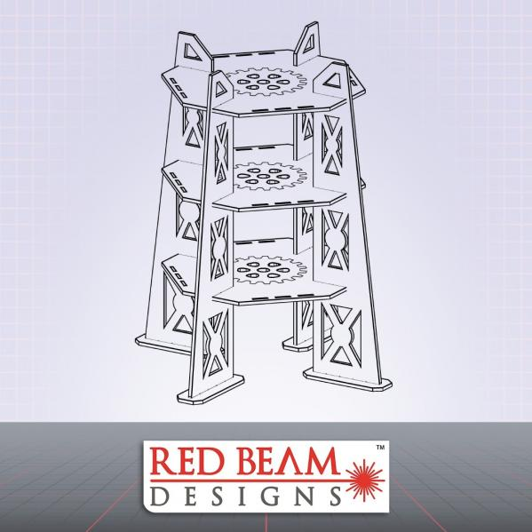 Complex Red: 3 Story Tower