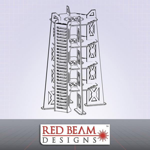Complex Red: 4 Story Tower