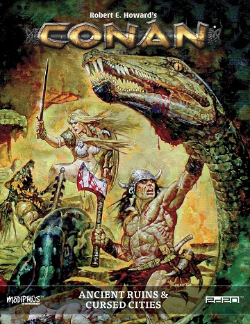 Conan: Ancient Ruins and Cursed Cities (HC)