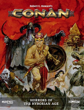 Conan: Horrors of the Hyborian Age (HC)