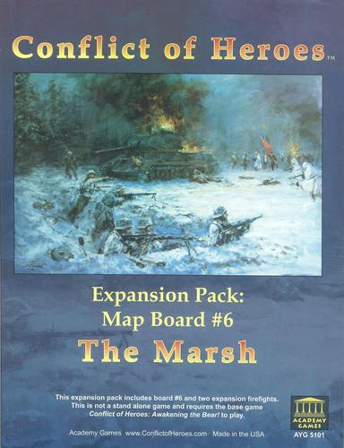 Conflict of Heroes: The Marsh Expansion