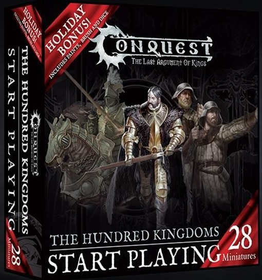 Conquest: Hundred Kingdoms - HOLIDAY GIFT SET