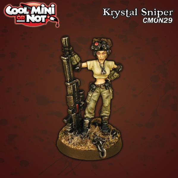 CoolMiniOrNot: Krystal Sniper (Limited Edition)