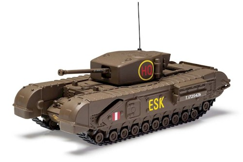 Corgi Diecast: PrePainted 1/50 Scale: Churchill MkIII 6th Scots Guards