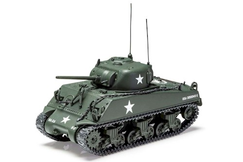 Corgi Diecast: PrePainted 1/50 Scale: Sherman M4 A3 US Army Luxembourg