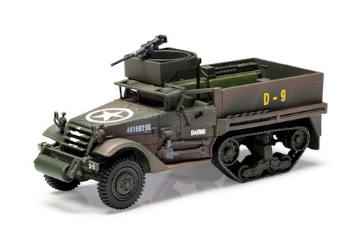 Corgi Diecast: PrePainted 1/50 Scale: M3 A1 Half-Track 41st Armoured Infantry
