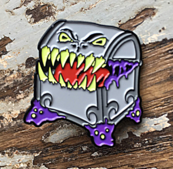 Creature Curation Enamel Pin: Mimic