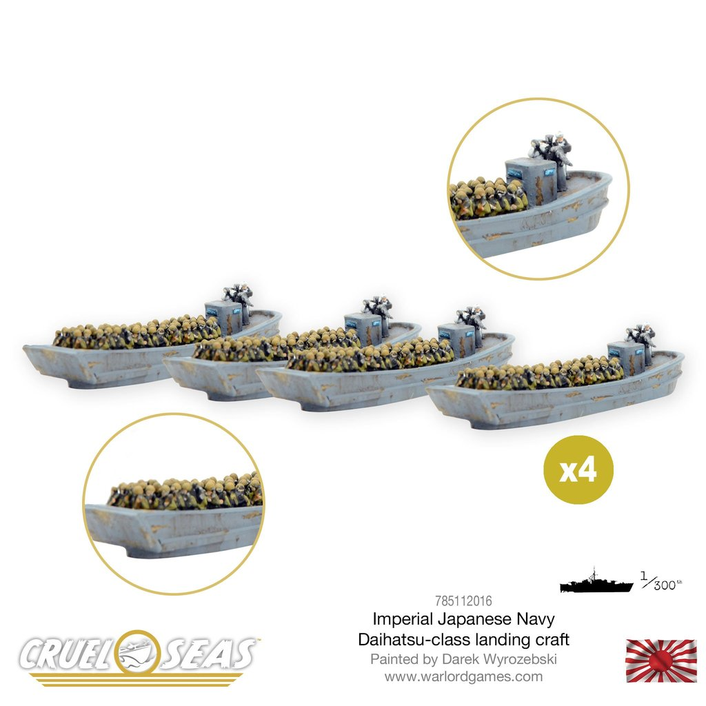 Cruel Seas: Imperial Japanese Daihatsu-class landing craft