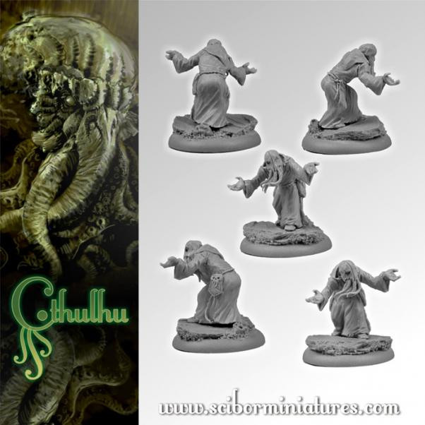 Scibor Monstrous Miniatures: Cthulhu Miniatures: Cthulhu Cultist #2