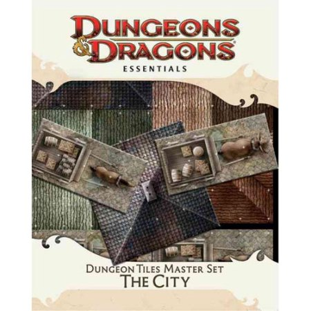D&D 4th Edition: Essentials Dungeon Tiles Master Set: The City