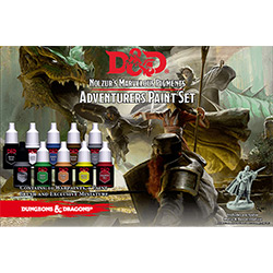 D&D ADVENTURERS PAINT SET