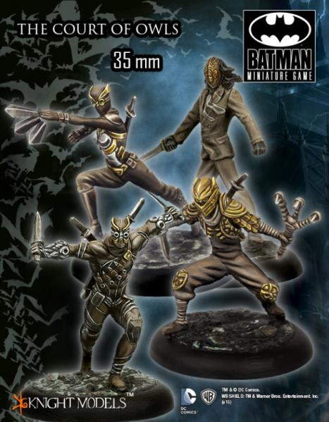 Batman Miniature Game 086: The Court Owls