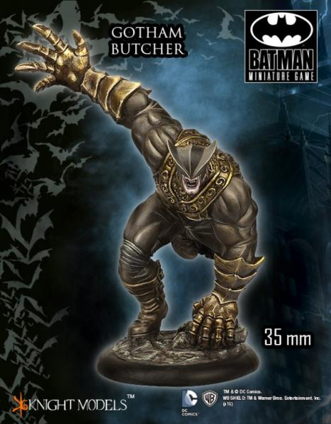 Batman Miniature Game 087: Gotham Butcher