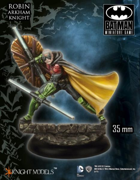 Batman Miniature Game 093: Robin (Arkham Knight)