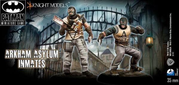 Batman Miniature Game 094: Arkham Asylum Inmates set 1