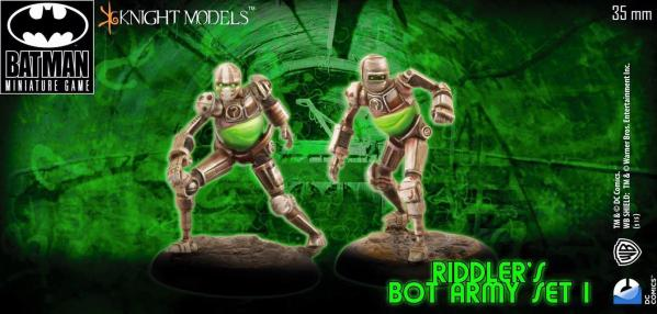 Batman Miniature Game 097: The Riddlers Bot Army Set 1