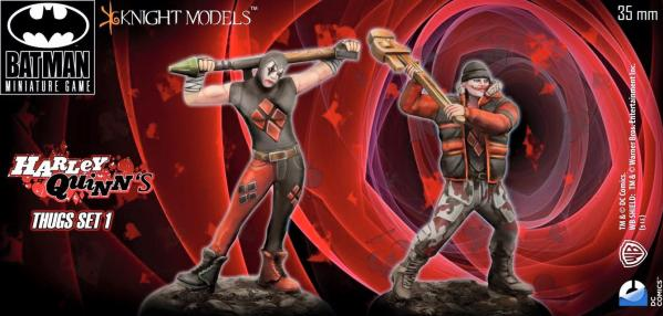 Batman Miniature Game 098: Harley Quinns Thugs Set 1