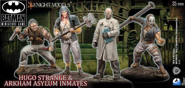 Batman Miniature Game 100: Hugo Strange and Inmates