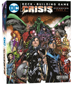 DC Comics Deck-Building Game: Crisis Expansion Pack 4