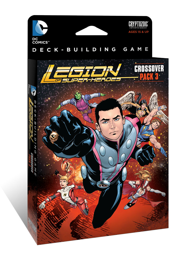 DC Comics Deck-Building Game: Crossover Pack 3 -Legion of Super-Heroes [SALE]