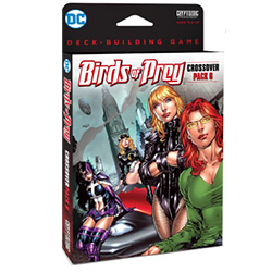 DC Comics Deck-Building Game: Crossover Pack 6- Birds of Prey [Damaged]